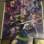 Club Nintendo - Legend of Zelda A Link Between Worlds & Skyward Sword Posters