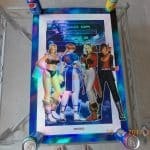 DEAD OR ALIVE 2 HOLOGRAPHIC OFFICIAL 1999 PROMO POSTER Dreamcast