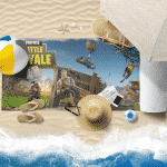 Fortnite Battle Royale Beach Towel