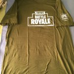 Fortnite Battle Royale T-shirt Size XL PlayStation Experience 2017 RARE