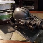 MW2 Night Vision Goggles in box with numbered stand