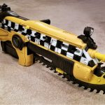 NECA Gears Of War Judgement Car No. 13 Taxi Lancer Full Scale Replica