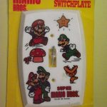 Rare Nintendo Super Mario Switchplate NEW IN PACKAGE 1991-American Tack Hardware