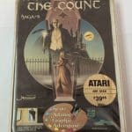 Saga #5 THE COUNT by Adventure International for Atari 400 800 1200 Diskette CIB