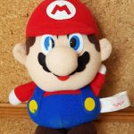 Banpresto SUPER MARIO WORLD Mario Plush Toy nintendo 1991