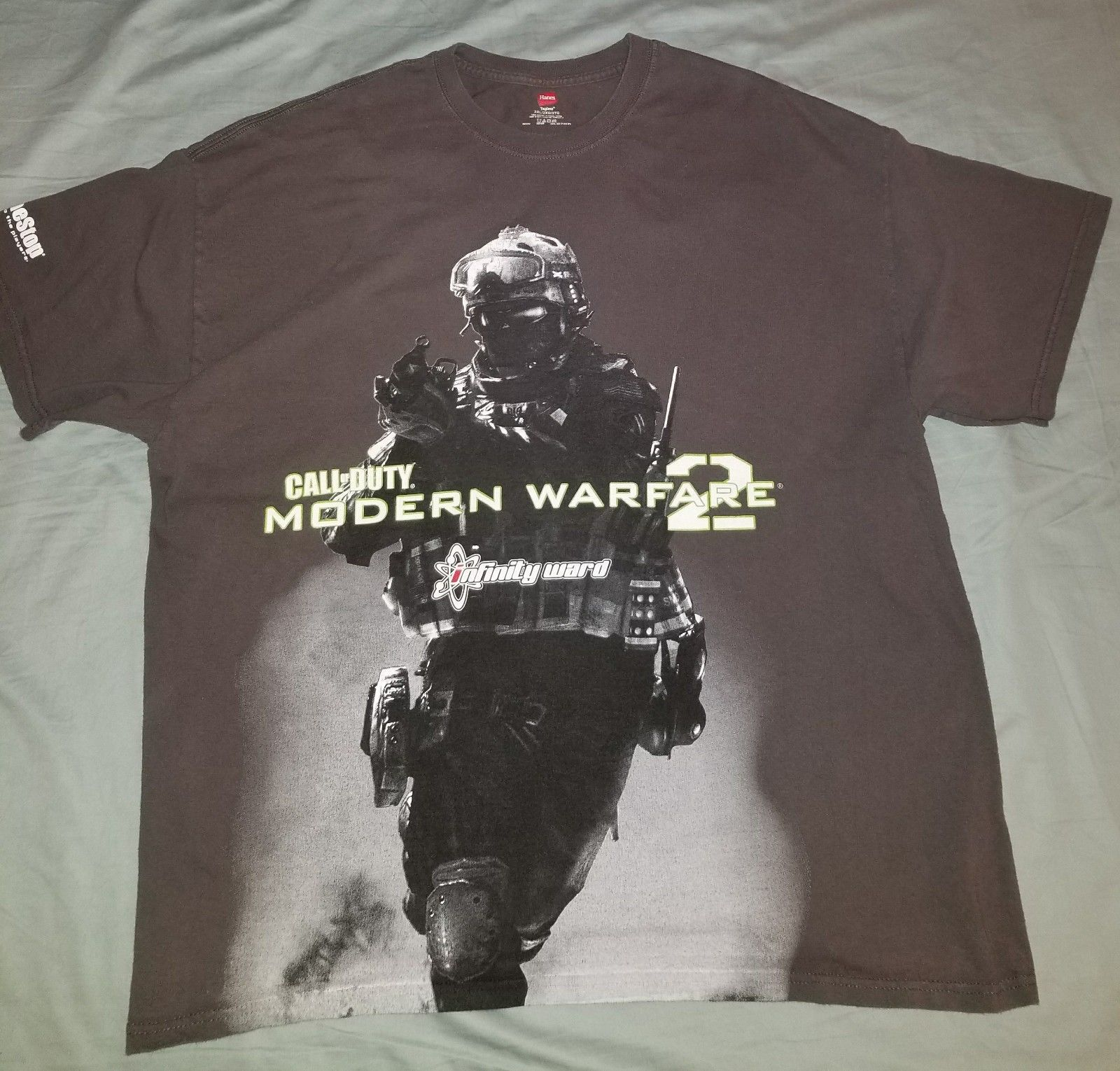 CALL OF DUTY COD MODERN WARFARE 1 & 2 MENS COTTON T SHIRTS 2XL 3