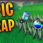 EPIC Fortnite TRAP and NO Scope SNIPING HEADSHOTS