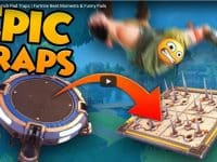 Epic Fortnite Launch Pad Traps Fortnite Best Moments & Funny Fails