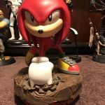 First 4 Figures Knuckles From Sonic polystone collectible statue