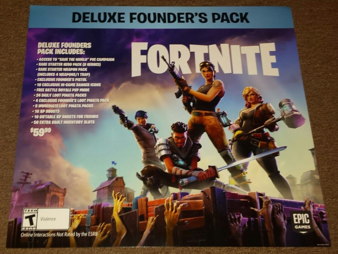 Fortnite 24x22 Poster Epic Games Battle Royale Official Authentic Ninja Myth DrLupo