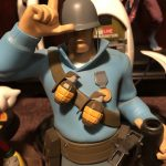Gaming Heads Team Fortress 2, Tf2 Statue Soldier polystone resin collectible