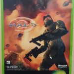 Halo 2 Very Rare Official Promo Poster 84x60cm A1 Xbox Original