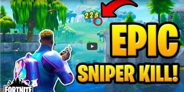 Head Squashing Sniper Footage - Fortnite 2 Solo Wins - 20 Kills