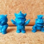 Japan Bandai 1980s SUPER MARIO BROTHERS 3 Keshi Figures Set of 3 Nintendo