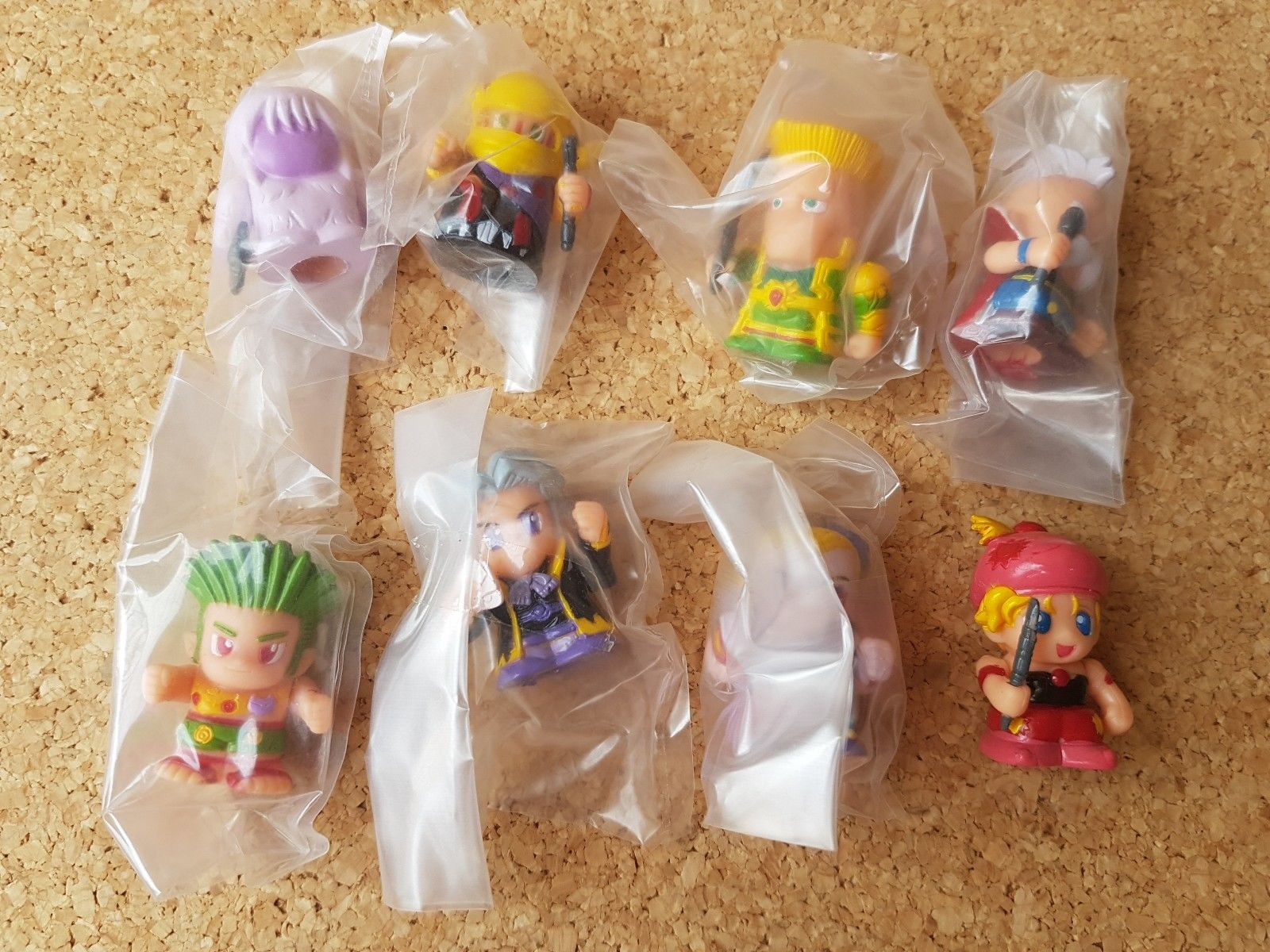Japan Bandai FINAL FANTASY VI FB COLLECTION Part 2 Full Set of 8 Figures 1994