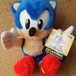 Japan Sega Sonic The Hedgehog Plush Toy 1994 High Tech Park Carnival segasonic