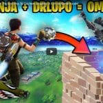 Ninja and DrLupo Demonstrate The Best Way To Use New Jetpacks in Fortnite Battle Royale