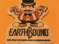 RARE EARTHBOUND MACH PIZZA AIR FRESHENER RPG SNES VINTAGE FAMICOM VIDEO GAME Nintendo