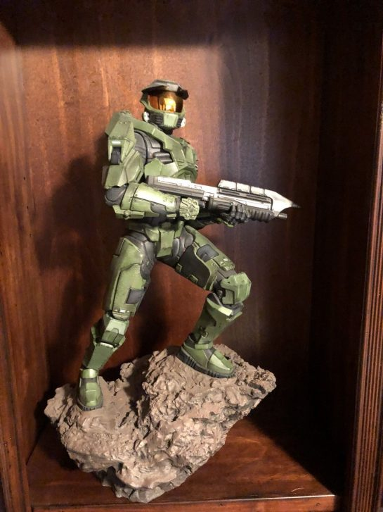 Sideshow Master Chief Halo Statue, Combat Evolved Original Armor - Polystone Limited Edition Valve