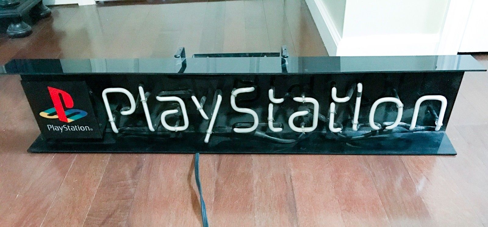 Sony PlayStation Neon Store Sign Original Authentic 1995