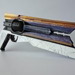 Sunshot gun prop from Destiny 2 Full size replica with moving parts, assembled