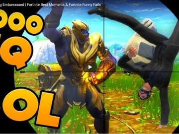 THANOS Getting Embarrassed Fortnite Best Moments & Fortnite Funny Fails