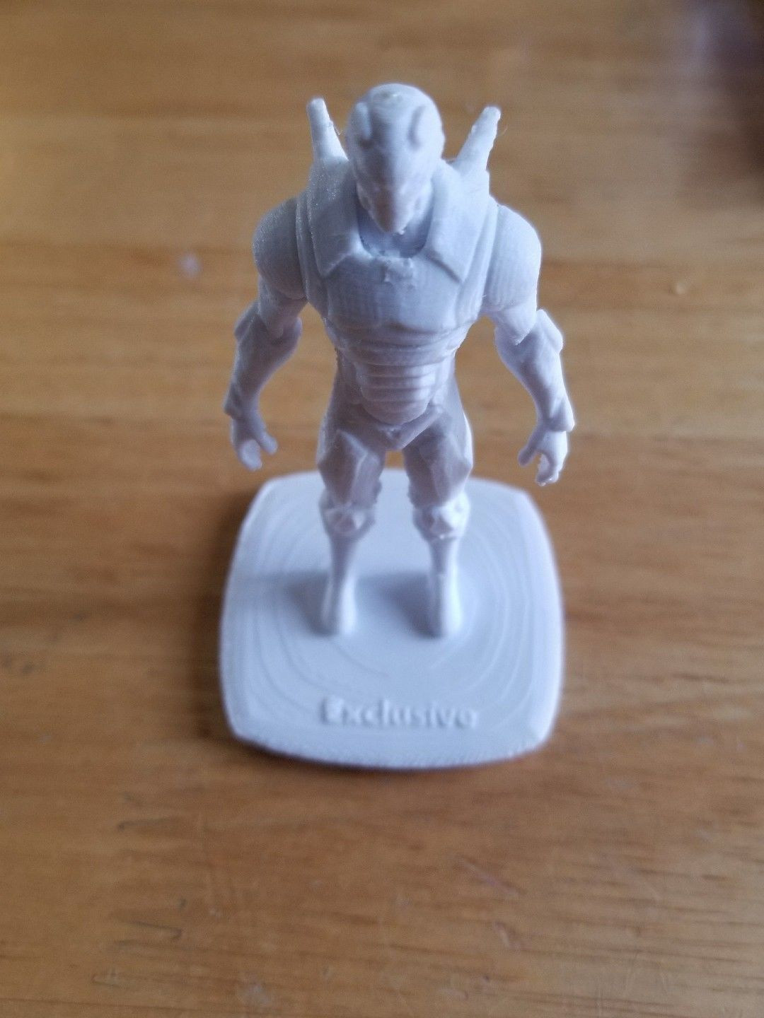 Fortnite Technique Figurine Collector White Custom DIY Model Rare Skin Item 33