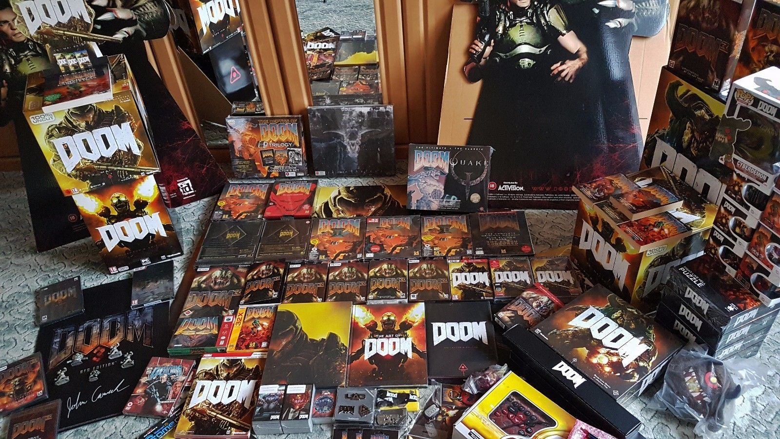 Biggest Doom Collection In The World Game Life