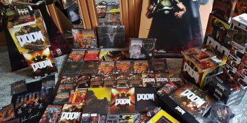 Biggest DOOM Collection in the World Video Game PC Gaming id Software Carmack Romero Hall Petersen McGee Green