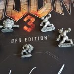Biggest DOOM Collection in the World Video Game PC Gaming id Software Reaper Pewter Miniature Baron Mancubus Pinky