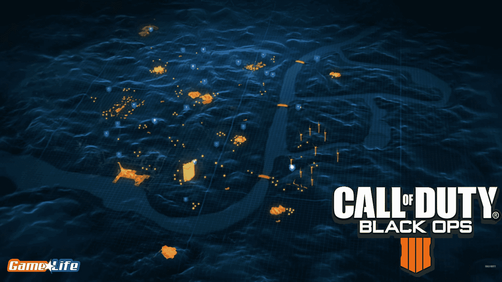 Black Ops 4 Blackout Map Nuketown Universe Call of Duty Guide TreyArch Battle Royale