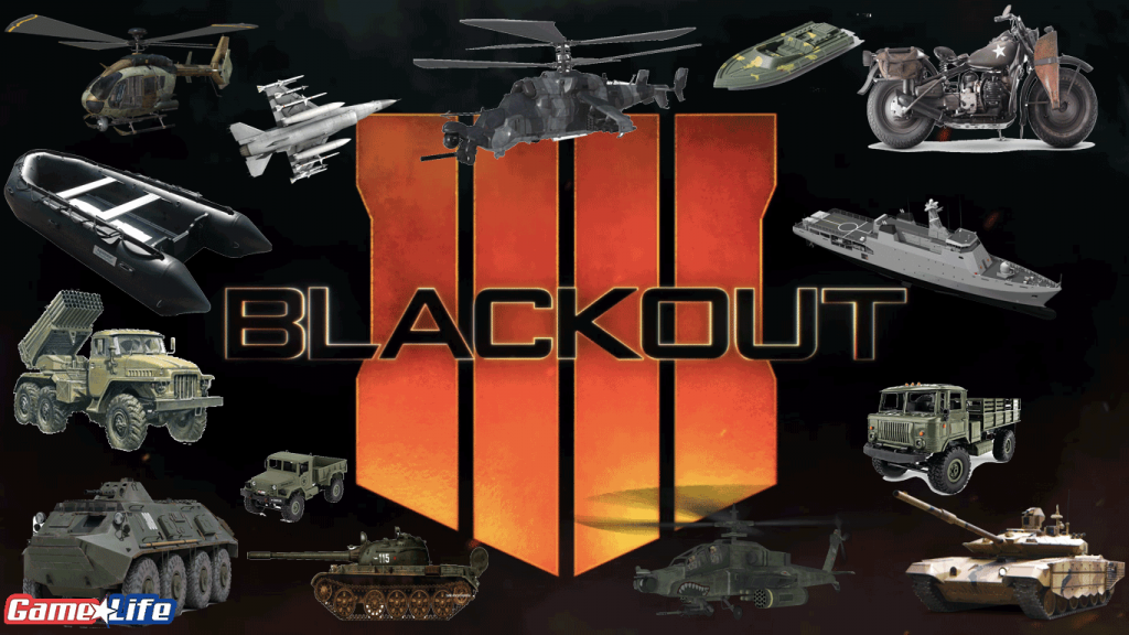 Black Ops 4 Blackout Vehicle List Universe Call of Duty Guide TreyArch