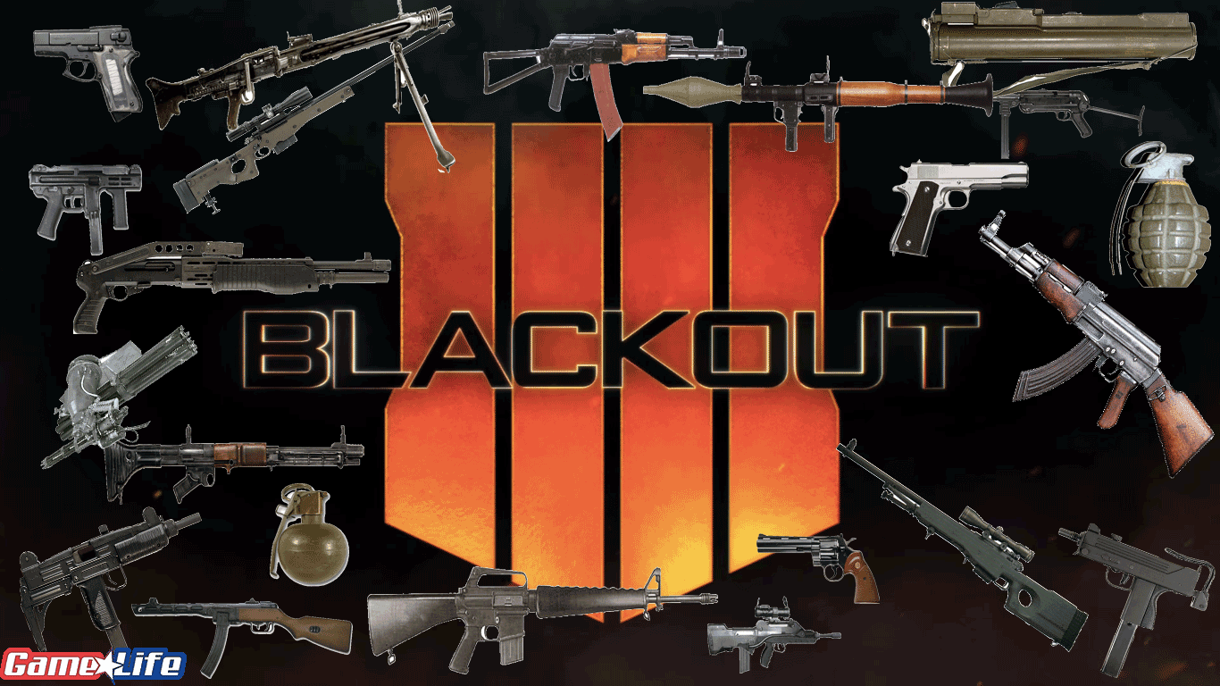 Black Ops 4 Blackout Weapon List Universe Call of Duty Guide TreyArch