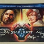 BlizzCon 2016 Starcraft Remastered Actor Signed poster 14x20 Raynor Kerrigan