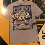 E3 2018 CUPHEAD Legendary CHALICE T-SHIRT X-LARGE FUNKO POP LIMITED EXCLUSIVE 3