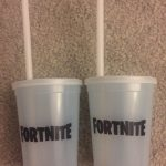 E3 2018 Exclusive Fortnite Color Changing Cup Set Of 2 Free Shipping