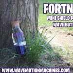 FORTNITE Mini Shield Potion WAVE Bottle Epic Games PC Gaming Xbox Playstation PS4 3