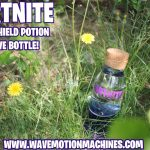 FORTNITE Mini Shield Potion WAVE Bottle Epic Games PC Gaming Xbox Playstation PS4 6