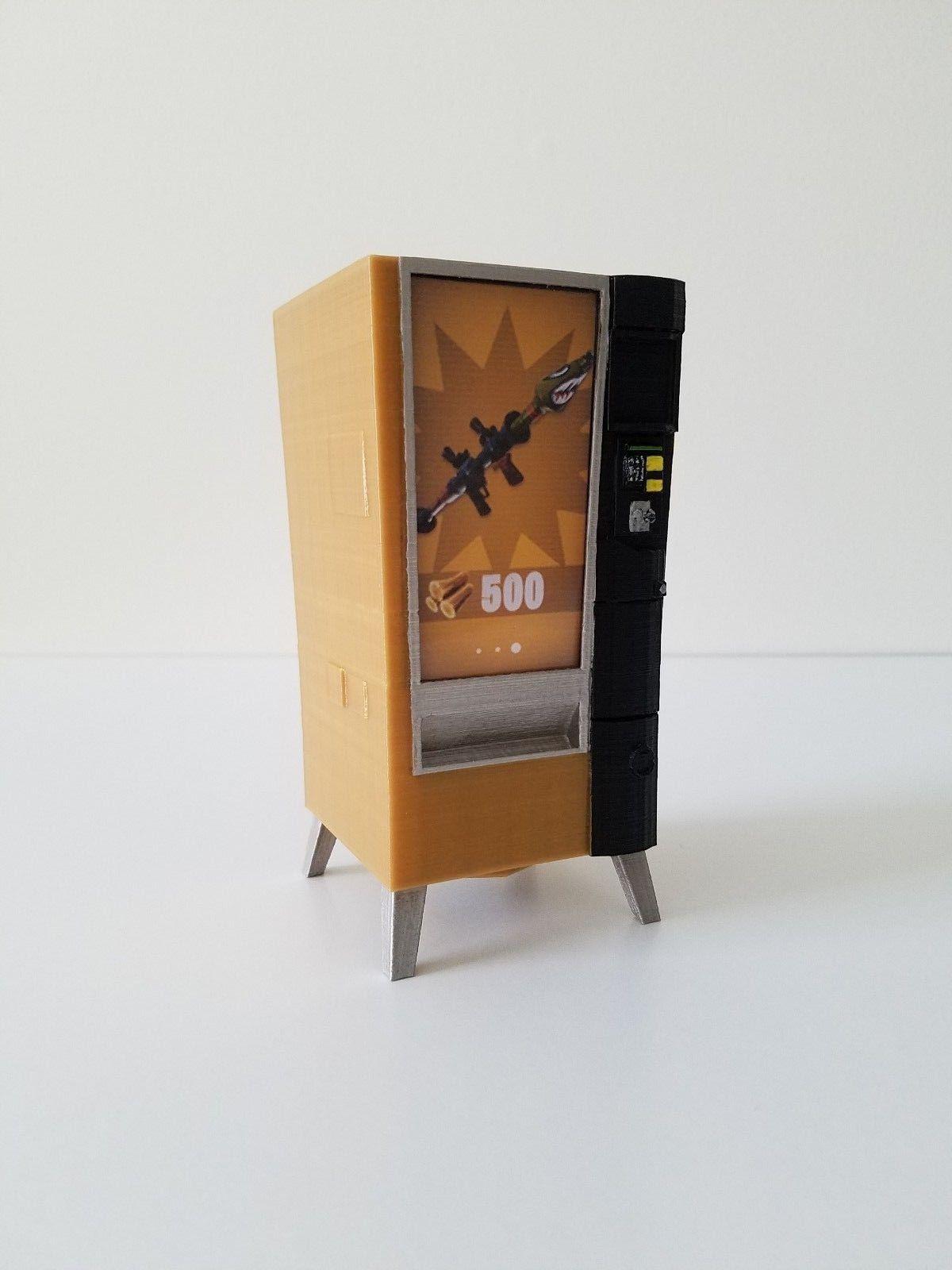 Fortnite Vending Machine Prop Custom Made Mini - Piggy, Coin Bank - V-bucks - Birthday Gift Epic Games 3