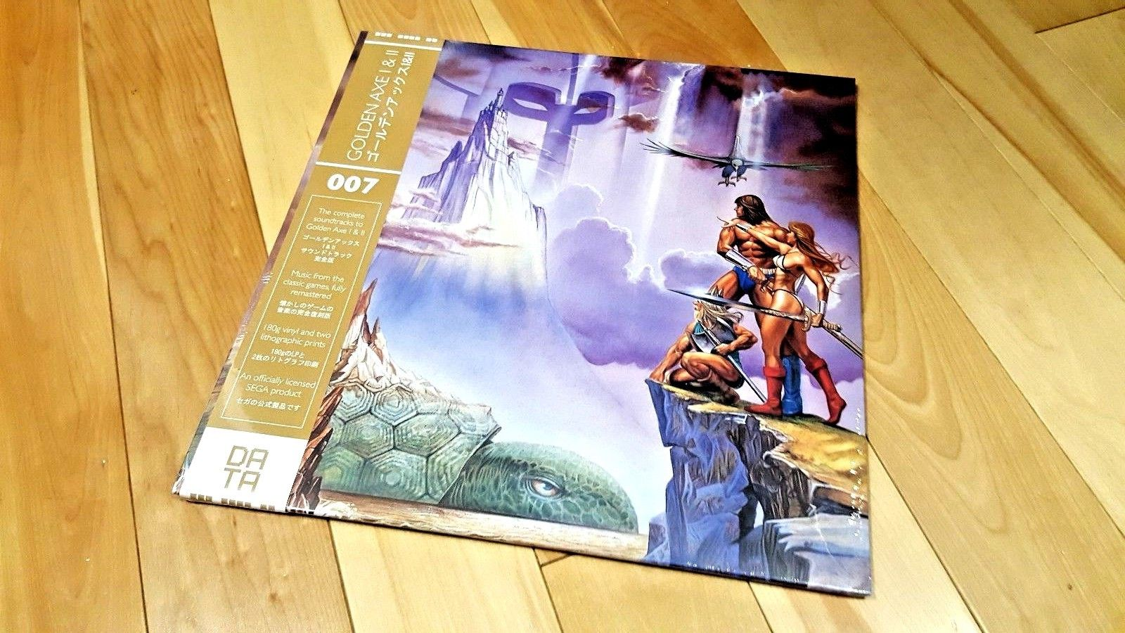 Golden Axe I & II Soundtrack OST Limited Edition Data Discs New LP Data Discs PS