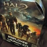 Halo Reach Marketing Display Helmet Collectible Gamestop Exclusive RARE Xbox 2 - Copy