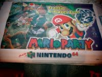 Mario Party 1998 Nintendo 64 Promotional Vinyl Poster Banner