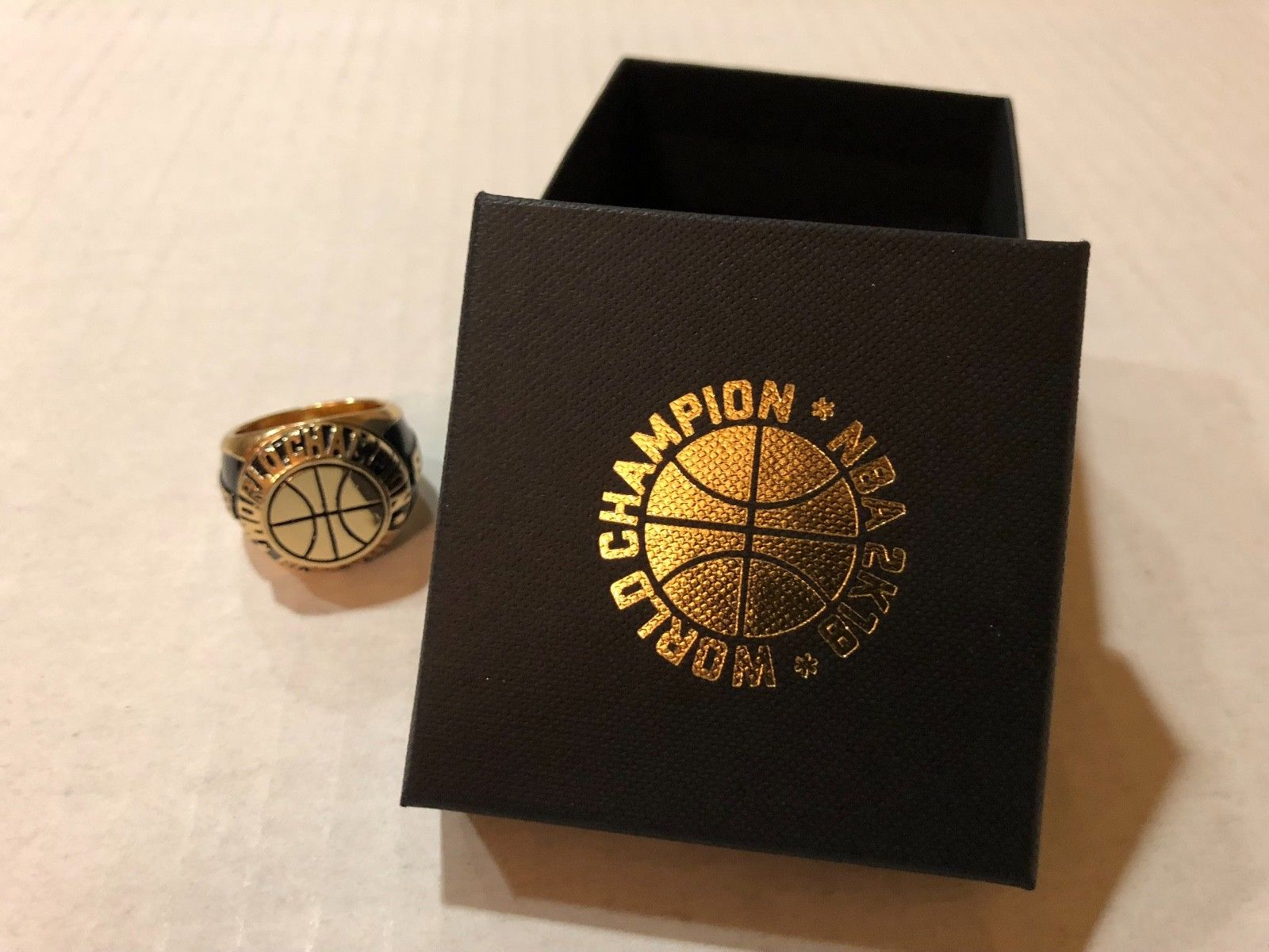 NBA 2K World Championship Ring Sport Game EA Electronic Arts PlayStation Xbox 2