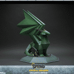 Spyro CRYSTAL DRAGON Exclusive Edition Statue Resin Activision First 4 Figures F4F