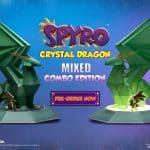 Spyro CRYSTAL DRAGON Mixed Combo Edition Statue Resin Activision First 4 Figures F4F