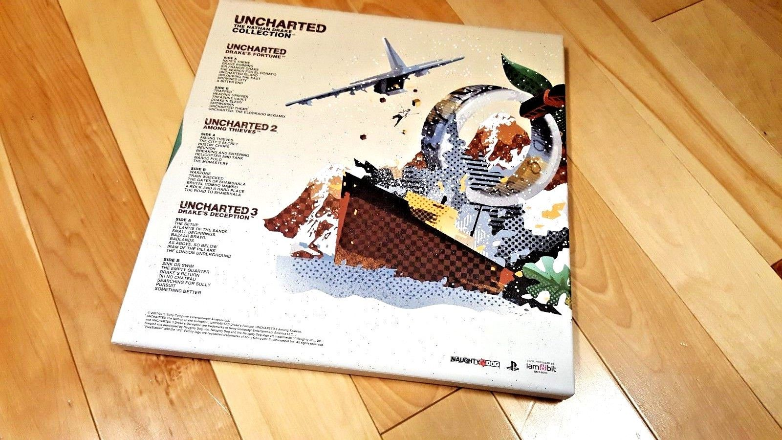 Uncharted Nathan Drake Collection Soundtrack OST Limited Edition LP Vinyl PS4 PS 2