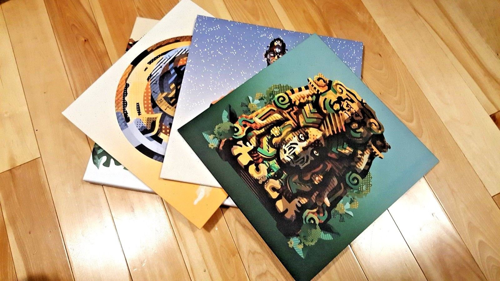 Uncharted Nathan Drake Collection Soundtrack OST Limited Edition LP Vinyl PS4 PS 3
