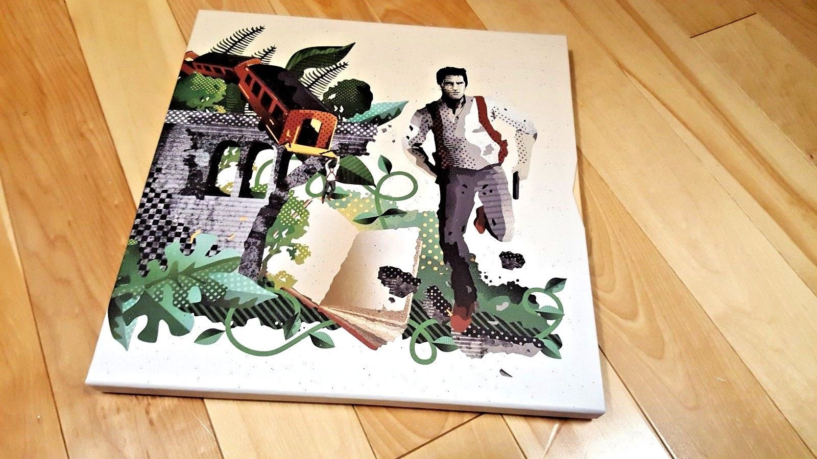 Uncharted Nathan Drake Collection Soundtrack OST Limited Edition LP Vinyl PS4 PS