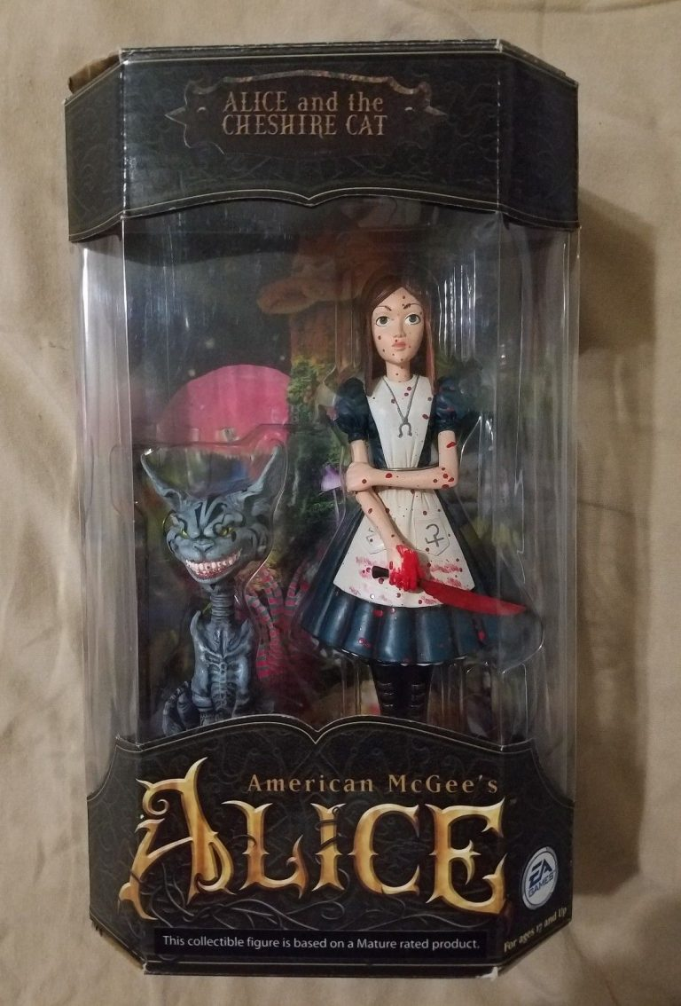 American McGee's Alice and the CHESHIRE CAT Action Figure Statue Electronic Arts EA Games