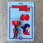 Balloon Fight Dano Brown Custom Action Figure Exhibition San Diego Los Angeles